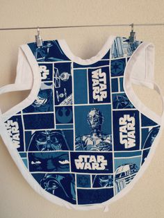 Star Wars Bapron Star Wars Baby Bib Bapron by HomespunWhit on Etsy
