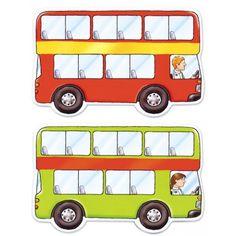 rangorde prent bus Arabic Lessons, Magic School Bus, Transportation Theme, Wheels On The Bus, Book Projects, Kindergarten Math, Pre School, Classroom, Teaching