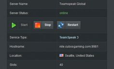 Teamspeak Servers, Ts3 Server, Teamspeak Hosting, Teamspeak Server Hosting