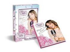 Il nuovo ed originale diario di Violetta! REgistra il tuo messaggio segreto ed ascoltalo!