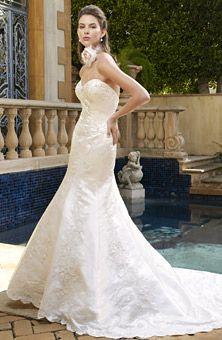 Brides: Casablanca Bridal : Style No. 1957 : Wedding Dresses Gallery