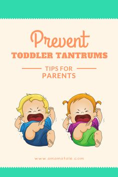 How to Prevent Toddler Tantrums | Toddler Behavior | Parenting Tips and Tricks | Toddler Tantrums | Free Printable! From: www.amamatale.com