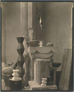 [Brancusi's Studio], Edward J. Steichen (American (born Luxembourg), Bivange 1879–1973 West Redding, Connecticut), Gelatin silver print