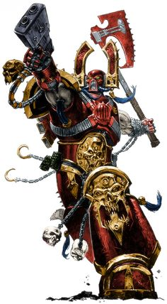 chaos kharn_the_betrayer khorne world_eaters