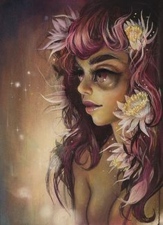 "Tatiana Suarez - ""Queen of the Night"" - SOLD"
