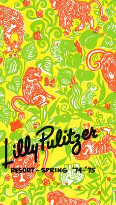 Lilly Pulitzer Resort Spring Catalog 1974-75