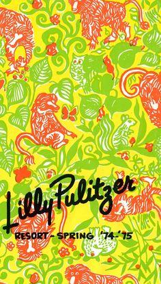 Lilly Pulitzer Resort Spring Catalog 1974-75