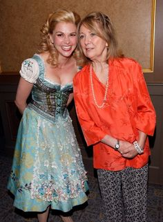 Sutton Foster and Teri Garr on the opening night of Young Frankenstein.