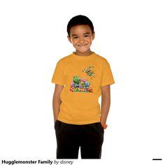 Henry Hugglemonster - Tu Playera básica ComfortSoft® de Hanes sin etiqueta para niños personalizada.Producto disponible en tienda Zazzle. Vestuario, moda. Product available in Zazzle store. Fashion wardrobe. Regalos, Gifts. #camiseta #tshirt