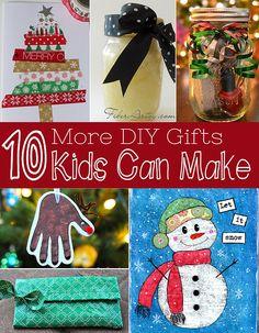 Ten More DIY Gifts Kids Can Make