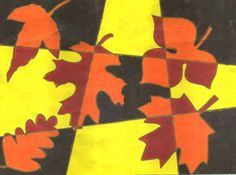 Cubist leaves