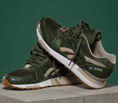 The Distinct Life x Reebok GL6000-Olive Green
