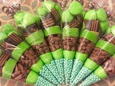 Green Sweet Cones