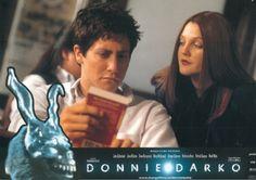 BROTHERTEDD.COM - Donnie Darko lobby cards Donnie Darko, Cards, Maps, Playing Cards