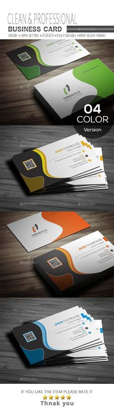 #Business #Card - Corporate Business Cards Download here: https://graphicriver.net/item/business-card/19608667?ref=alena994