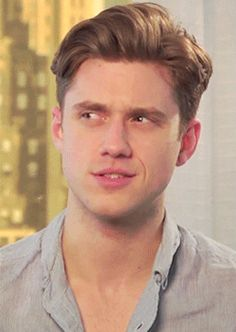 When he made this painfully cute confused face. | The 42 Most Seductively Charming Aaron Tveit Moments Of All Time