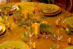 Como decorar la mesa en Navidad. Tips Originales. | Decorar tu casa es facilisimo.com