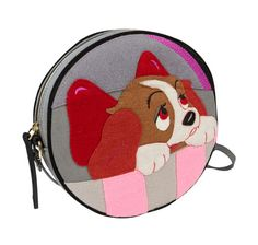 Les sacs et minaudières-livres Olympia Le-Tan x Disney, La Belle et le Clochard, chien
