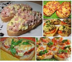 7 recipes hot sandwiches Hot Sandwich Recipes, Baked Potato, Sandwiches, Snacks, Baking, Breakfast, Ethnic Recipes, Food, Morning Coffee