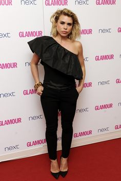 Billie Piper at the Glamour Women Of The Year Awards on June 3rd, 2014.