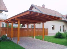 Image Detail for - Wooden Carports – Better for tomorrow