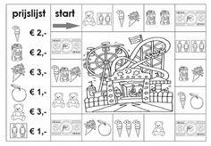 Rekenen is Top!: Rekenspel 143 Pretparkmonopoly