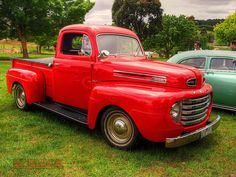 1949 Ford Pickup Truck - Gene wants a truck like this for him & Charlie to cruise around in!