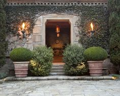 Ellen Degeneres and Portia de Rossis New House (previously owned by John Saladino). Be still my heart.