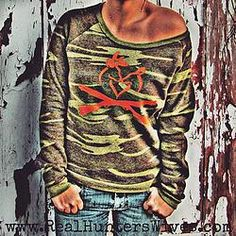 """GUNS UP"" R.H.W. Logo Camo Dash Sweatshirt"