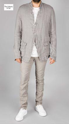 @ The Library 1994  Poème Bohémien - Unlined Patch Pocket Shirt Jacket Patch, Shirt Jacket, Wearable Art, Men's Fashion, Man Shop, London, Pocket, Boutique, Coat