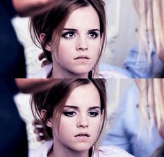 I love her eye makeup!
