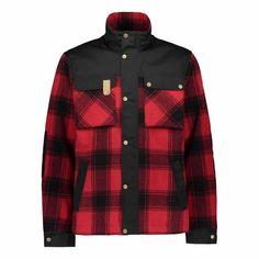 Tervas takki SASTA True Red: M   Sasta-Outlet Red Design, True Red, Recycled Fabric, Organic Cotton, Rain Jacket, Windbreaker, Raincoat, Warm, Boutique