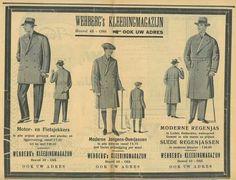 Oude advertentie van Wehberg Mode in Oss! Nu nog steeds een toonaangevende herenmodezaak in Oss, wel op een ander adres.
