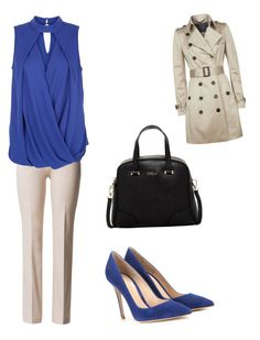 """""""Untitled #2221"""" by ncmilliebear ❤ liked on Polyvore featuring moda, Burberry, Gianvito Rossi y Furla"""
