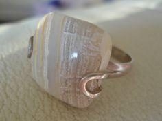 Ocean+Jasper+ring++silver+stone+ring++size+9+by+Kagun+on+Etsy,+$35.00