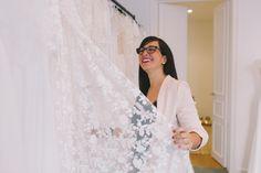 RIME ARODAKY BARCELONA SHOWROOM 8J2A8956 Rime Arodaky, Showroom, Barcelona, Wedding Dresses, Fashion, Bridal Collection, Bridal Gowns, Weddings, Bride Dresses