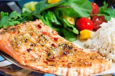 Spicy Chili Garlic Grilled Trout - Quick and easy spicy chili garlic grilled trout - dinner is on the table in under 30 minutes! Perfect for those busy school nights! Grilled Trout Recipes, Trout Fillet Recipes, Spicy Recipes, Grilling Recipes, Fish Recipes, Seafood Recipes, Dinner Recipes, Cooking Recipes, Healthy Recipes