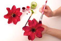 Tutorial Anemone - spitze Blüte