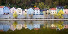 Danube River Photography, Germany Photography, European Fine Art, Wall Decor, Fine Art Photography, Vivid Colors, Wall Art