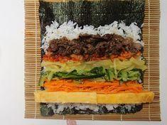 定番!具だくさんキムパ by 西山京子/ちょりママ | レシピサイト「Nadia | ナディア」プロの料理を無料で検索