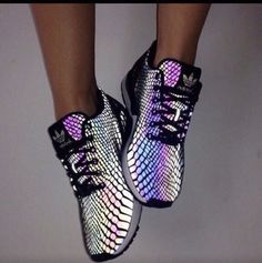Iridescent Adidas