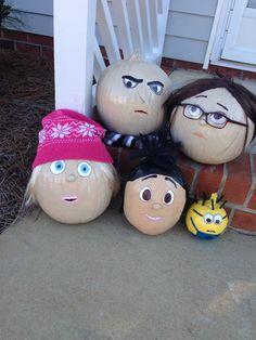 Despicable Me Pumpkins