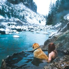 Dream day at the Keyhole Hot Springs. Photo: @elizabethgadd. #ExploreBC #ExploreCanada