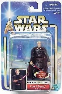Hasbro Star Wars E2 Saga AOTC Count Dooku Dark Sith Lord MOC || In stock @DCCollectibles (click image to buy it now). Orders of 2 or more listings (total $69 or higher), ships for FREE! Continental US only.