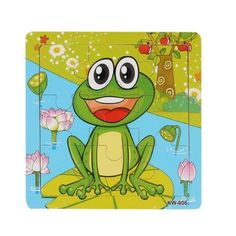 Frog Wooden Puzzle For Kids