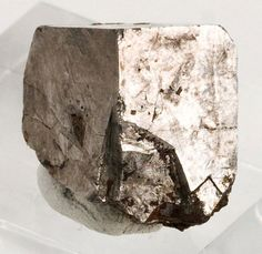 Single Cubic Cobaltite Crystal from Brazil Lake Occurrence (Elizabeth Lake Mine), Sudbury District, Ontario, Canada