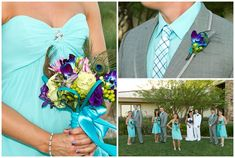 I LOVE this for the bridesmaids and groomsmen