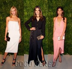 Karlie Kloss, Alessanra Ambrosio, Lily Aldridge lead the pack of the best dressed at the CFDA/Vogue Fashion Fund Awards!