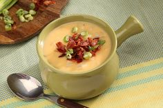 Cheesy Potato Soup -