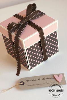 Hobby di Carta - Il blog: CARD: Cardbox portasoldi by Fiorella